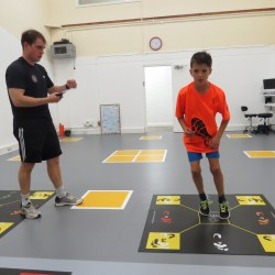 Kids movement & running analysis